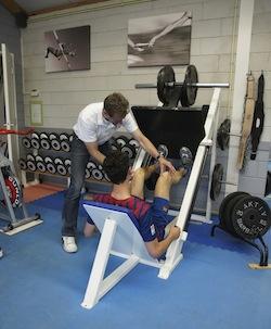 Fitness begeleiding door Fysiotherapeut